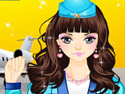 Play Air Hostess Make Up