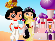 Play Aladdin and Jasmine wedding
