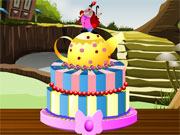 Play Alice In Wonderland Cake