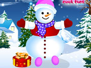 Play Amazing Snowman Dressup