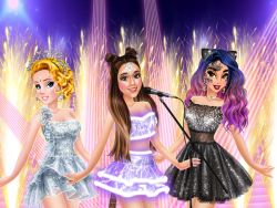 Play Ariana's Concert With Princesses
