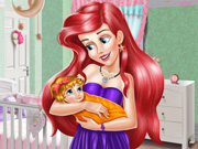 Play Ariel Baby Room Decoration