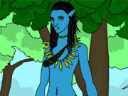 Play Avatar World Coloring