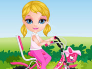 Play Baby Barbie Bicycle Ride