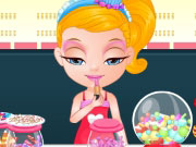 Play Baby Barbie Candyshop Slacking