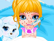 Play Baby Barbie Chickenpox Attack