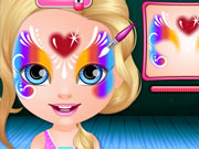 Play Baby Barbie Face Painting