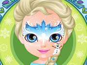 Play Baby Barbie Frozen Face Painting