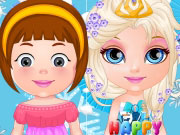 Play Baby Barbie Frozen Party