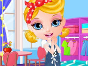 Play Baby Barbie Girly Room