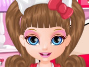 Play Baby Barbie Hello Kitty