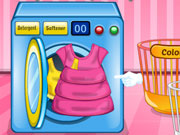 Play Baby Barbie Laundry Day