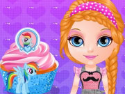 Play Baby Barbie Little Pony Cupcakes