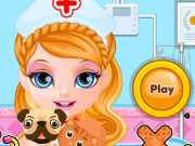 Play Baby Barbie Pet Hospital