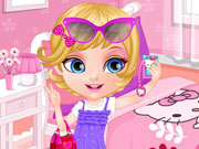 Play Baby Barbie Selfie Card