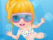 Play Baby Barbie Swimming Accident