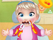 Play Baby Elsa Tooth Problems