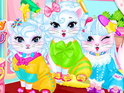 Play Baby Kitty Hair Salon