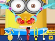 Play Baby Minion Nose Doctor