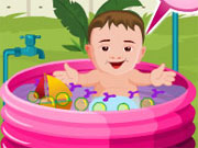 Play Baby Outdoor Bathing