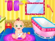 Play Baby Rosy Bathroom Decoration