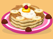 Play Banana Pancake Cooking