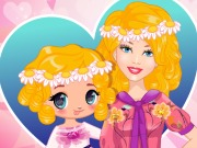 Play Barbie And Daughter Fashionistas