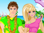 Play Barbie and Ken Beach Party