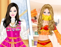 Play Barbie As Princess Japanese Russian Arabian And Indian