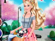 Play Barbie Bike Luvin