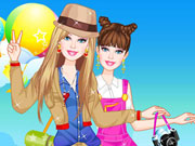 Play Barbie Camping