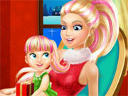 Play Barbie Family Christmas Eve