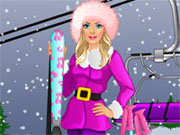 Play Barbie goes Skiing