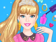 Play Barbie Prom Nails