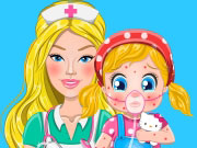 Play Barbie's Baby Allergy