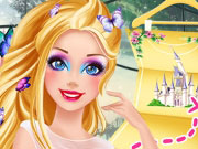 Play Barbie's Fairytale Adventure