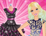 Play Barbie's Little Black Dress