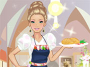 Play Barbie Waitress