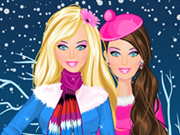 Play Barbie Winter Dress Up