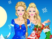 Play Barbie Winter Girl