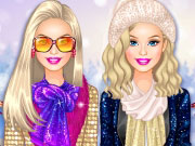 Play Barbie Winter Glitter Trends