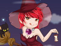 Play Beauty Witch Dressup