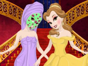 Play Belle's Princess Makeover