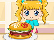 Play Burger Shop Frenzy