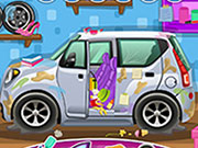 Play Car Wash Cleanup