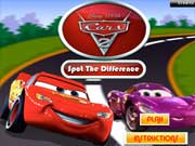 Play Cars 2 - Spot the Difference