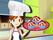 Play Cherry Cup Cake Cooking