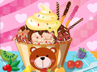 Play Chocolate Ice Cream Decoration