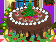 Play Christmas Cake Deco