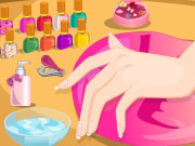 Play Cinderella's Cocoa Nails